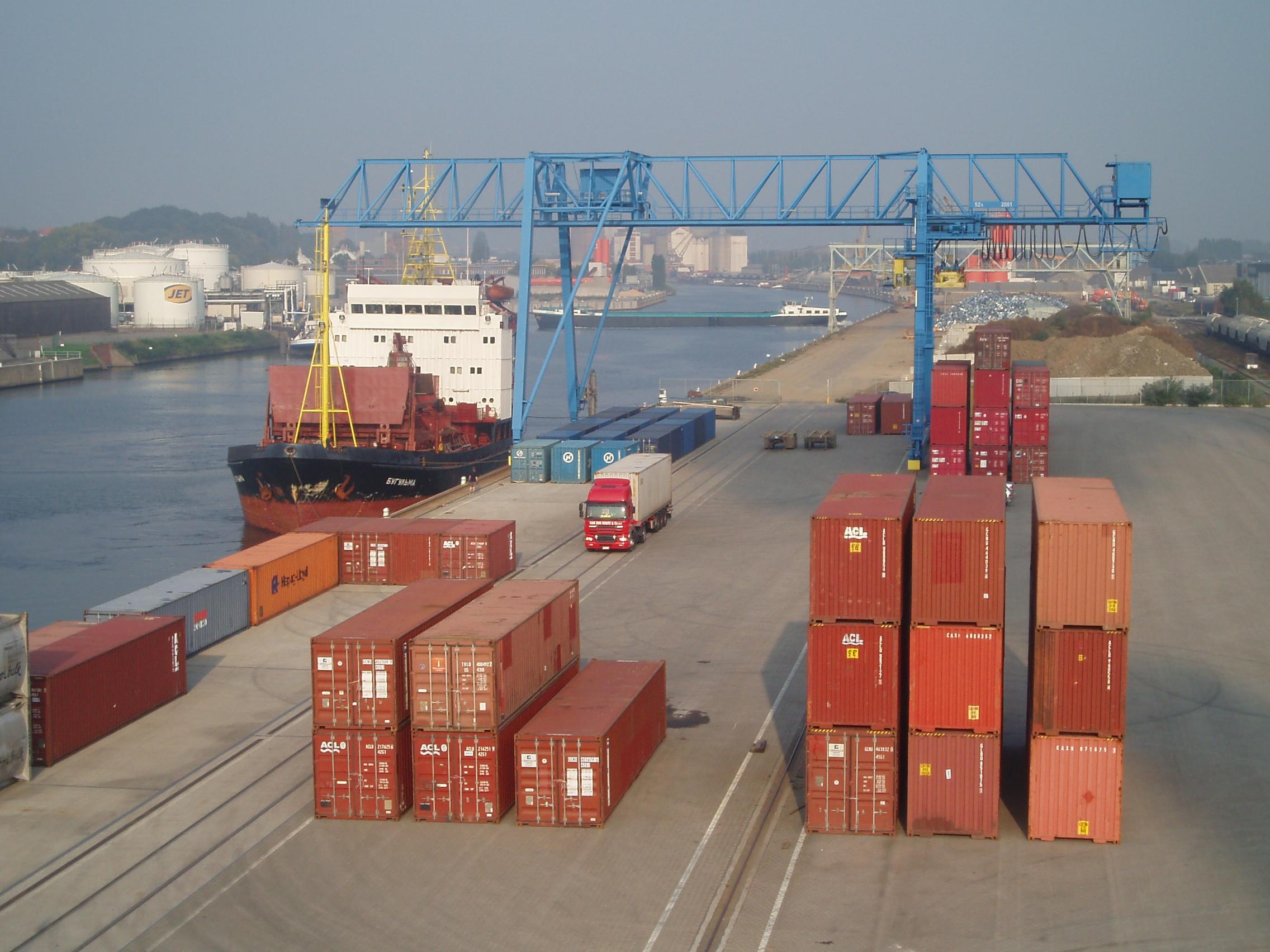 Intermodaal transport - LDH Trans